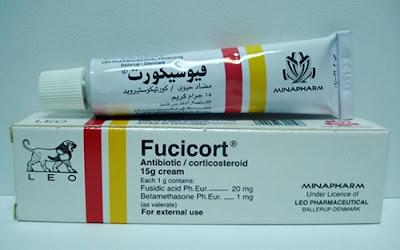 فيوسيكورت كريم لعلاج التهاب الجلد Fucicort Cream