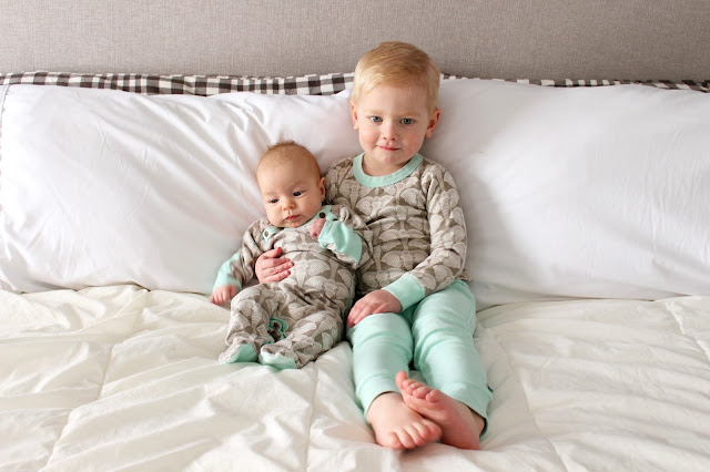 finn + emma organic cotton pyjamas for baby and toddler