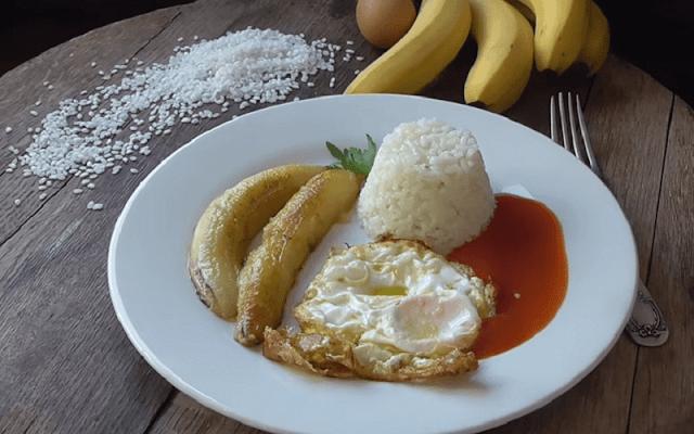 receta arroz a la cubana