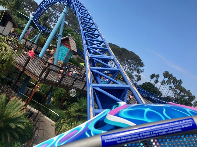 SeaWorld, Manta Ray Roller Coaster, San Diego California