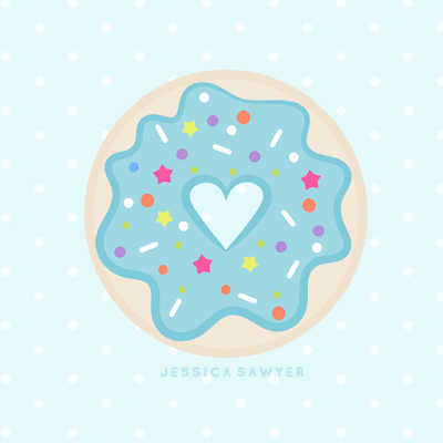 Free Donut Clipart for National Donut Day! | Jessica Sawyer Design