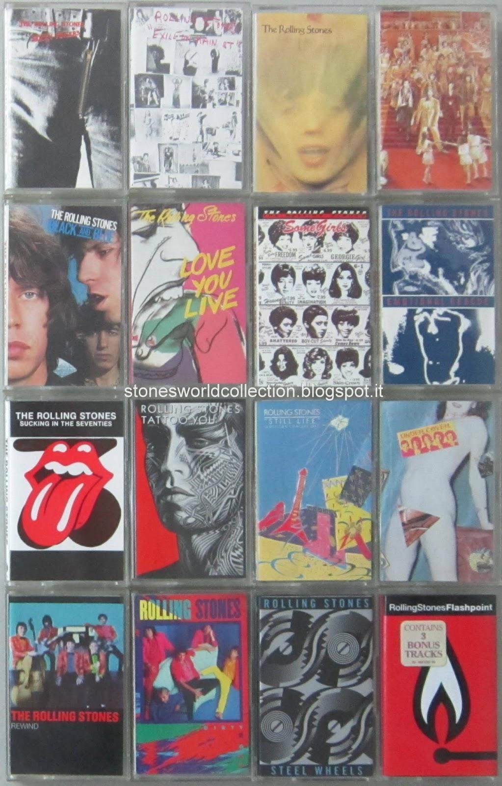Stonesworldcollection Rolling Stones Cassette Tape