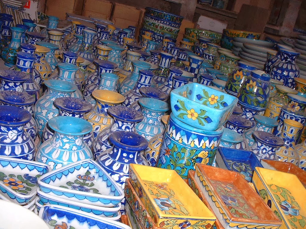 Jaipur pottery