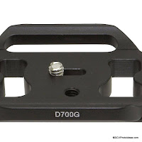 Custom QR Plates for Gripped Nikon D700 and D800 from Desmond