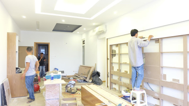 nhận thi công sơn sửa nhà