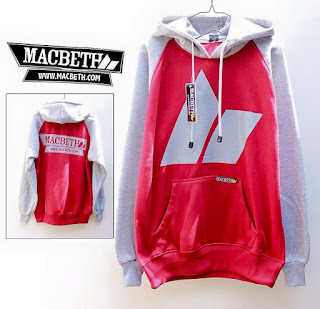 Jaket Fleece Hoodie Macbeth MAC005