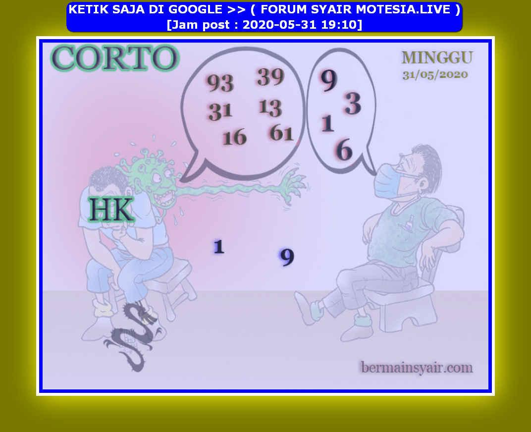 Kode syair Hongkong Minggu 31 Mei 2020 104