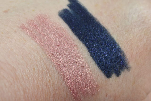 diego dalla palma Long Wear Eyeshadow Sticks in Candy and Blue Star swatch