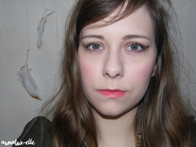 makeup taupe et gold