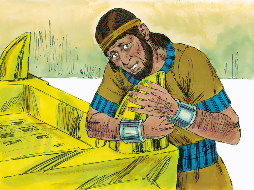Adonijah, in fear of Solomon, went and took hold of the horns of the altar and pleaded for his life.
