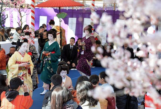 Baika-sai at Kitano Tenman-gu Shrine, Kamigyo-ku, Kyoto