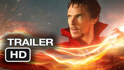 doctor strange marvel trailer