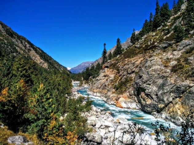 Trekking Trail from Chitkul to Sangla