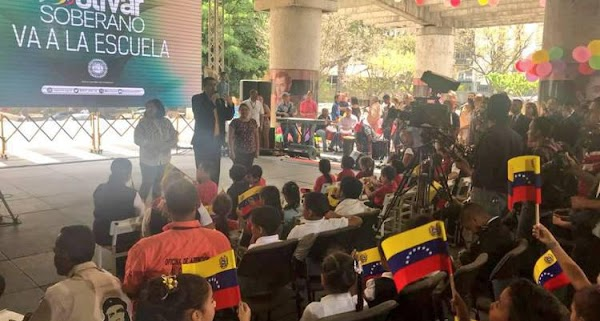 Inició el Plan Estratégico El Bolívar Soberano va a la Escuela