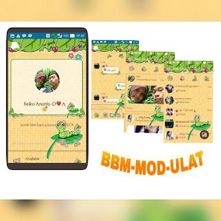 Download BBM Mod Ulat Mumuku May Versi 3.0.0.18 Apk