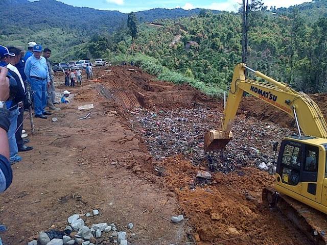 Akhirnya, Ini Jawaban untuk Masalah Sampah Kota Sungai Penuh, TPS Terpadu Renah Kayu Embun Dioperasikan