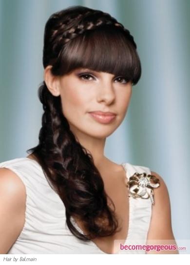 Modela Tu Cabello Hermosos Peinados Con Trenzas Para Fiestas