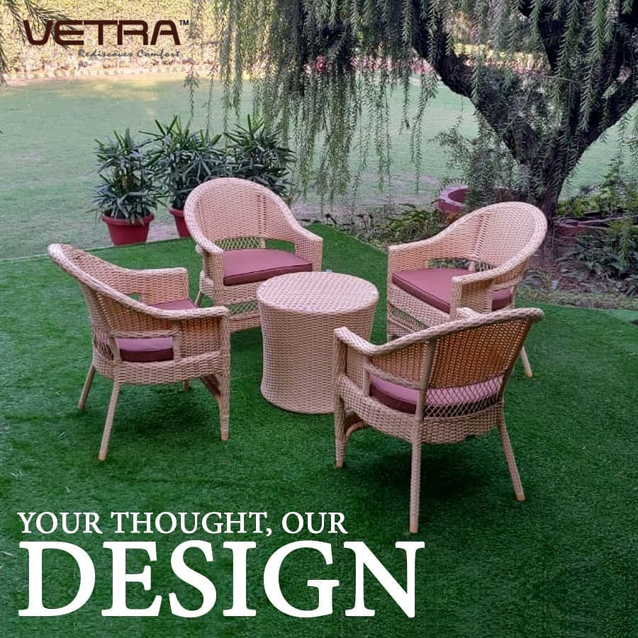 buy ultra-modern outdoor furniture from vetra | vetra