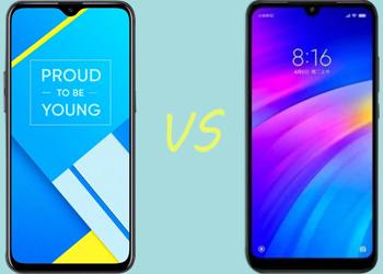 Smartphone 1 jutaan Terbaik Antara Realme C2 VS Xiaomi Redmi 7