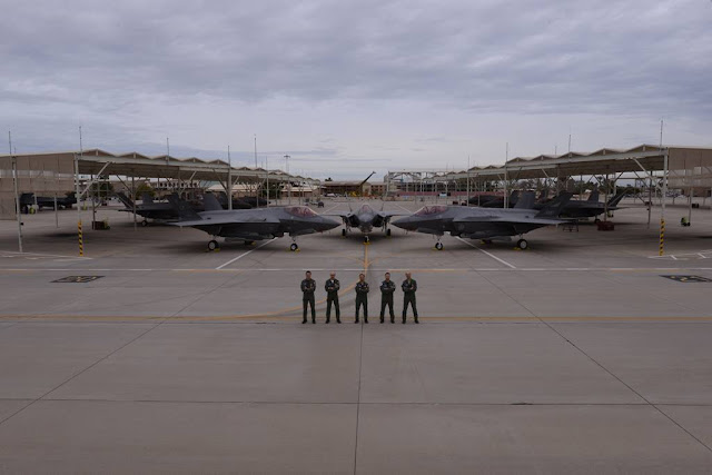 Piloti istruttori italiani F-35 Luke