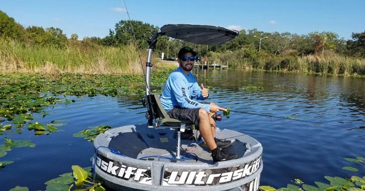 Ultraskiff 360 round fishing watercraft boat or vessel for Round fishing boat