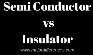 Semi Conductor vs Insulator
