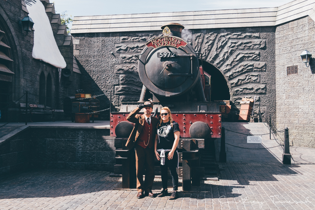 Courtney Tomesch Wizarding World of Harry Potter Universal Studios Hollywood