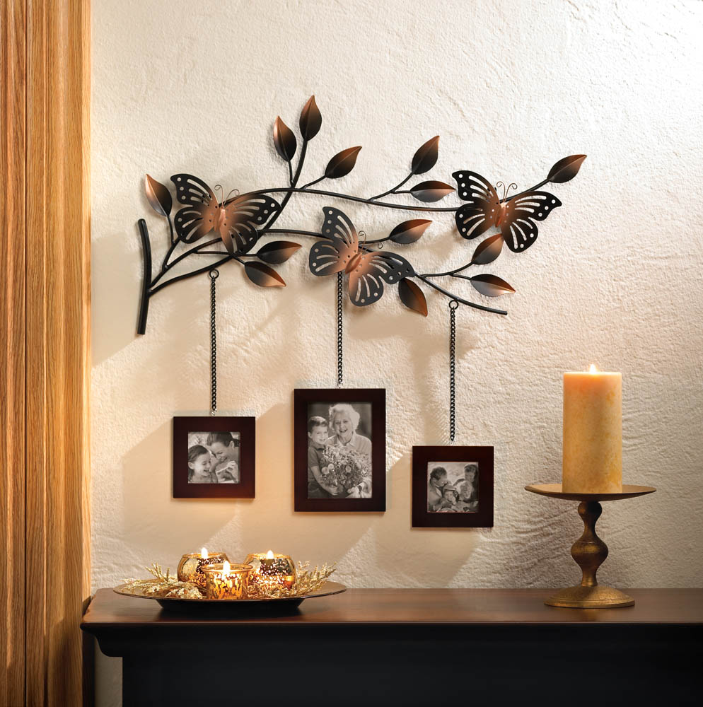 Wall Decoration Erflies At Home And Interior Design Ideas