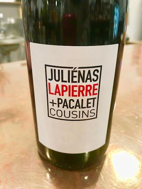 Pacalet & Lapierre Julienas Cuvee Cousins 2017