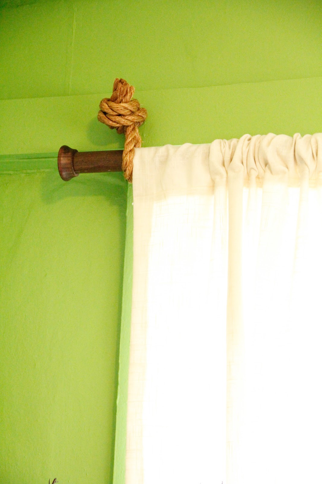 Breakfast At The Zemke S Diy Curtain Rods Curtains