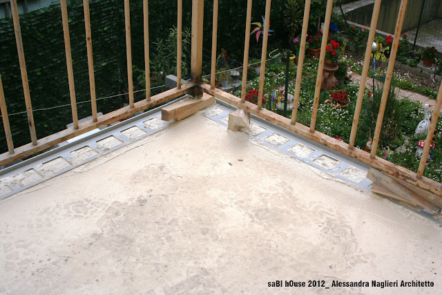 impermeabilizzazione balconcino balcony sealing