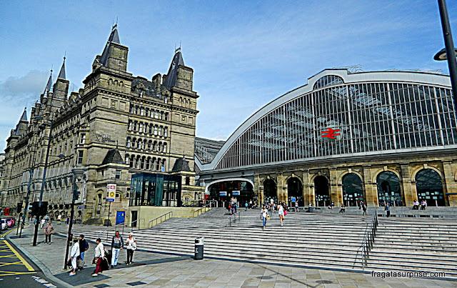 Estação de trens de Lime Street, Liverpool, Inglaterra