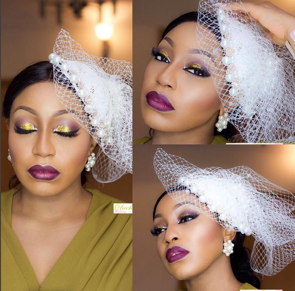 Rita Dominic Amp Husband Step Out For Noble Igwe S Wedding