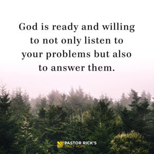 What If We Prayed as Much as We Worried? by Rick Warren