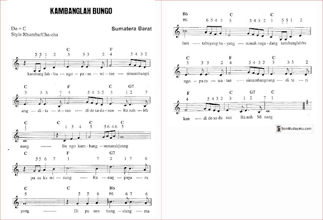 gambar-not-angka-lagu-kambanglah-bungo-sumatera-barat