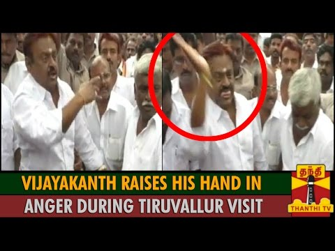 Vijaykanth tried to attack people