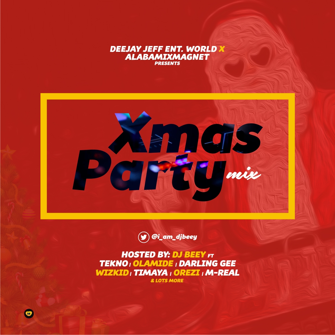DJ BEEY :: XMAS PARTY MIX | DJ JEFF ENT WORLD / ALABAMIXMAGNET