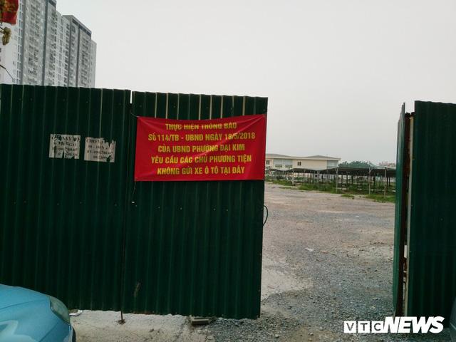 Giải tỏa bãi đỗ xe ở Linh Đàm và Kim Văn Kim Lũ - Ảnh 5
