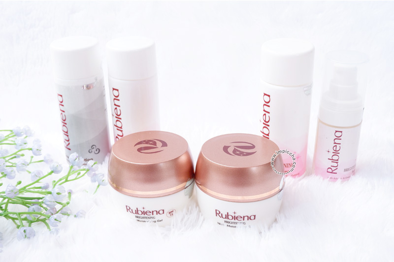 Review Rubiena Brightening Series Skincare