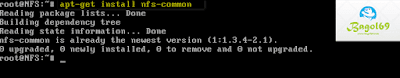 Sharing  Storaage  Menggunakan  NFS  Debian  7