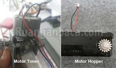Motor Toner dan Motor Hopper Mesin Fotocopy Canon IR