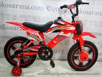 Sepeda Anak Vario Shogun Motocross 16 Inci