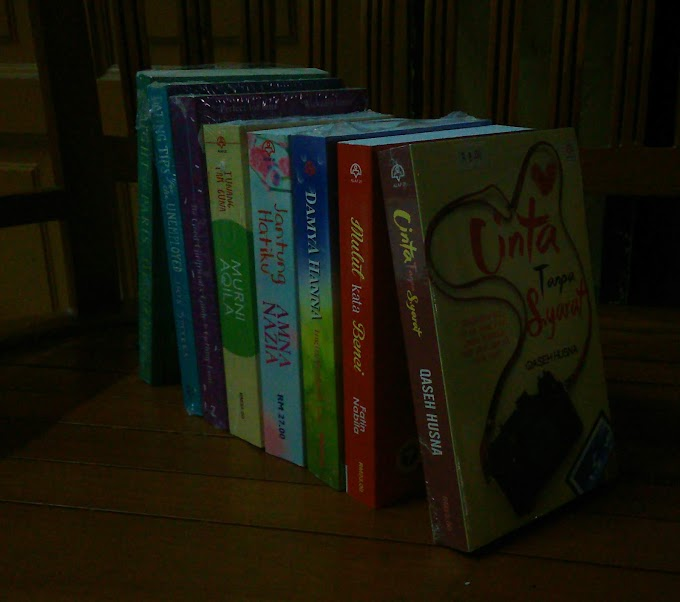 Novels I Bought at Big Bad Wolf Event!!