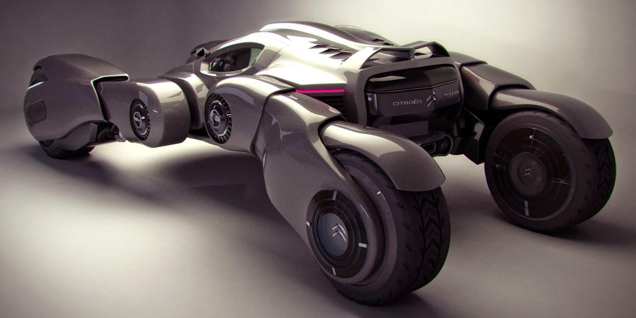 Moto biplaza del futuro