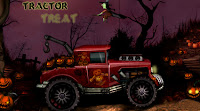 Here is Treactor Treat! A #Halloween #CarGame or #TractorGame!