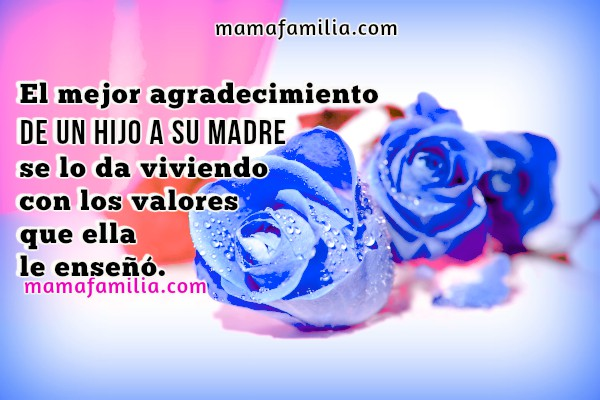 Frases, pensamientos bonitos para la madre, mamá, postales de las madres, homenaje a mamá, imágenes bonitas de madre por Mery Bracho