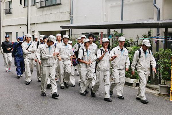 一日海上実習in大三島