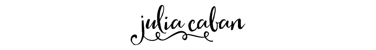 Julia Caban Blog | Zdrowy Styl Życia
