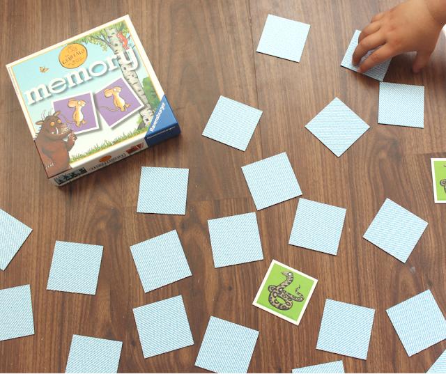 children stories, Julia Donaldson, memory game, gruffalo