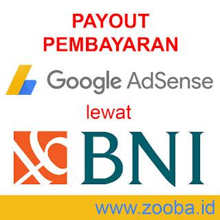 Pembayaran Payout Adsense lewat Bank BNI